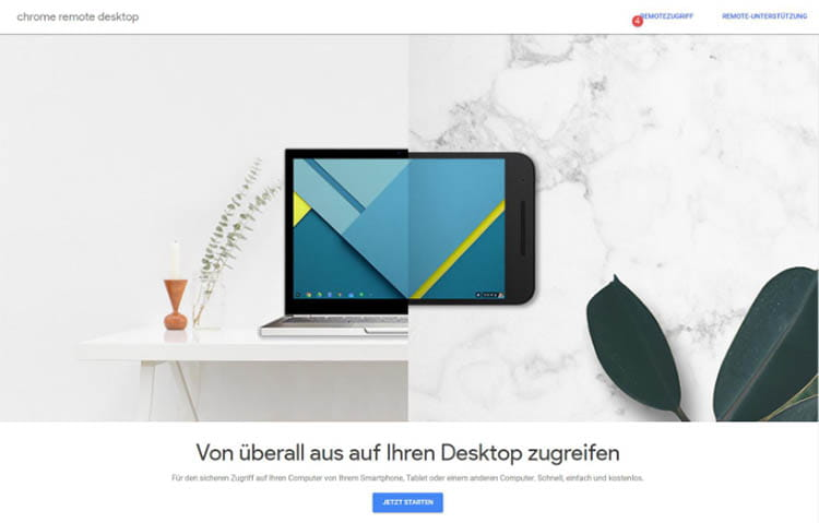 Streamen von Windows 10 auf Chromebook-, MacBook- und Linux-Geräte mit Chrome Remote Desktop