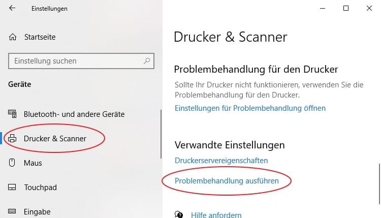 Drucker Von Offline Auf Online Stellen